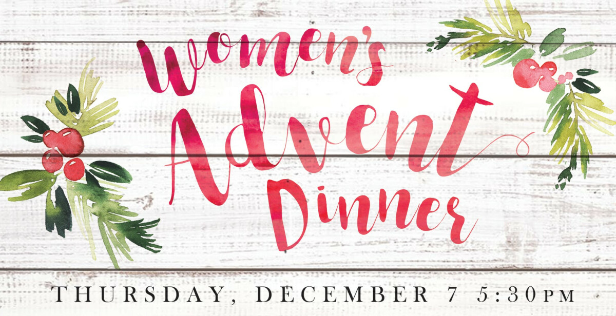 Women's Advent Dinner