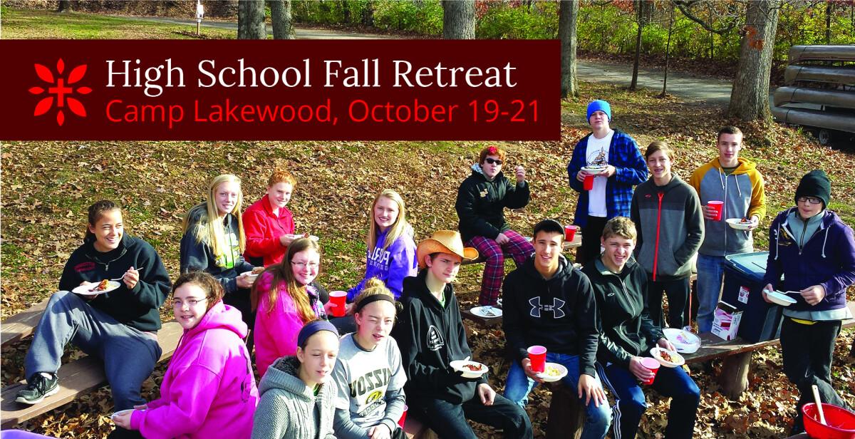 High School Fall Retreat 2018
