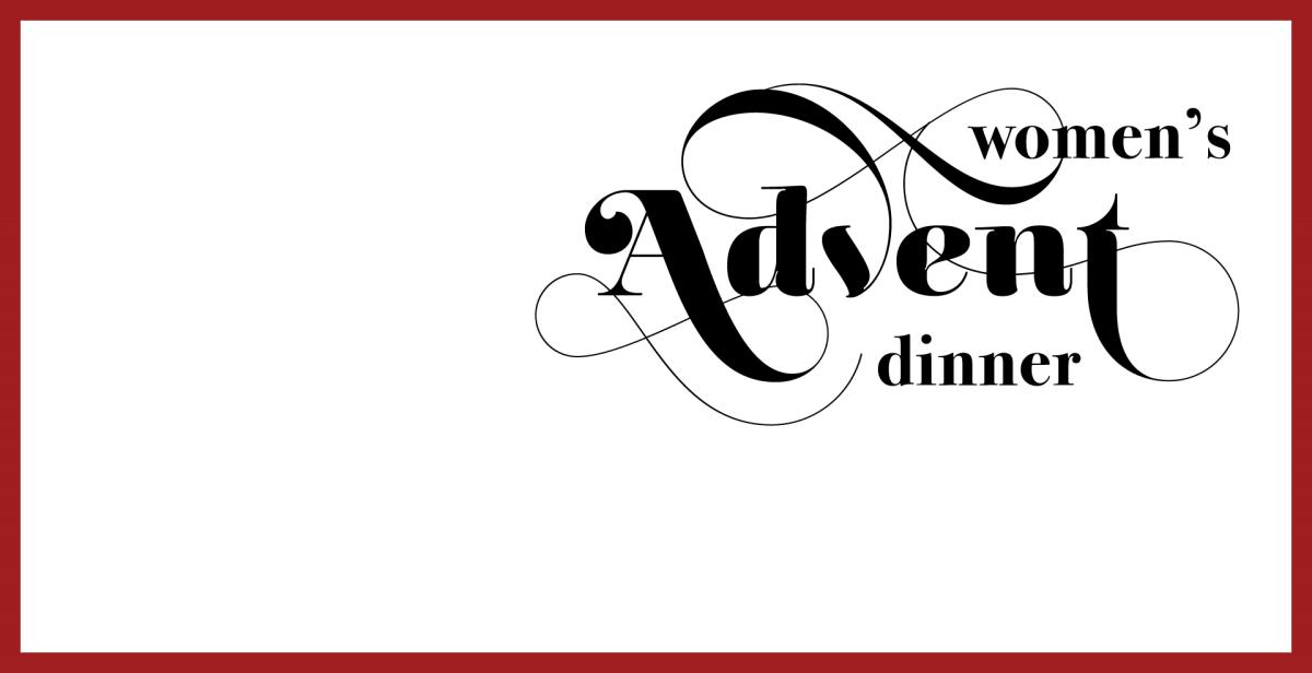 Women's Advent Dinner 2018