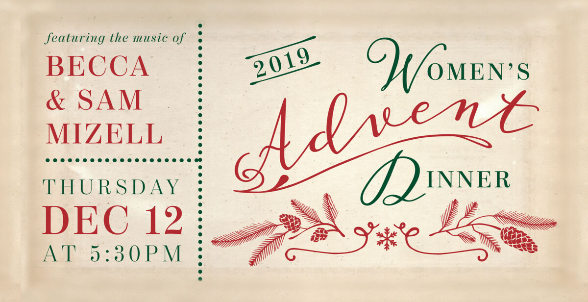Women's Advent Dinner 2019